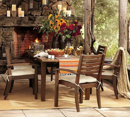 modish_design_rustic_style_doning_table_and_chairs