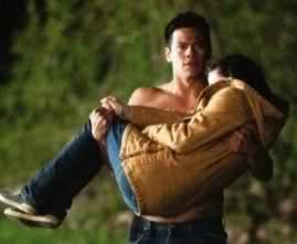 Sam carrying Bella