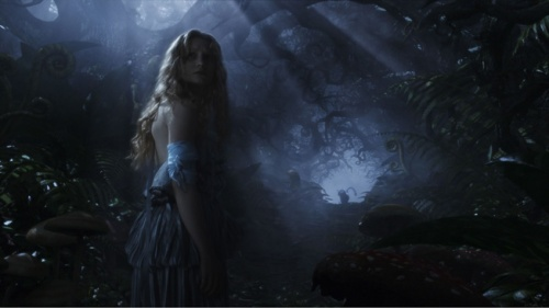 Alice in Dark Forest with Chess