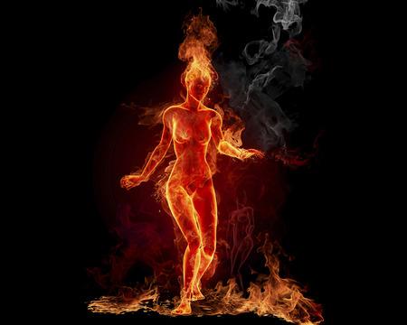Freya as Fire