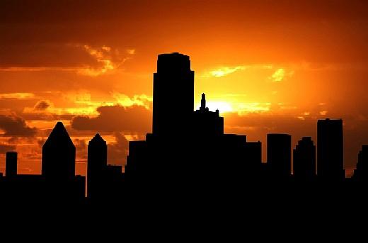 Dallas-at-Sunset