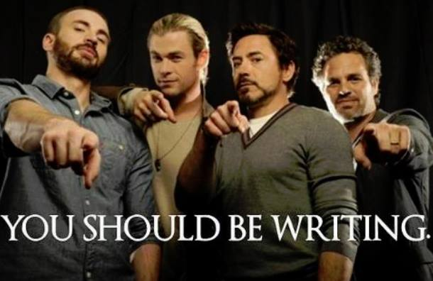 You Should Be Writing 1
